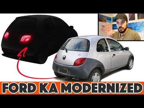 1996 Ford KA Re-design: What If It Was Made In 2021???