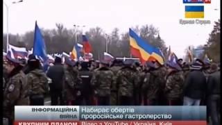 Информационная война: Россия против Украины. 7 03 2014г. 24 News