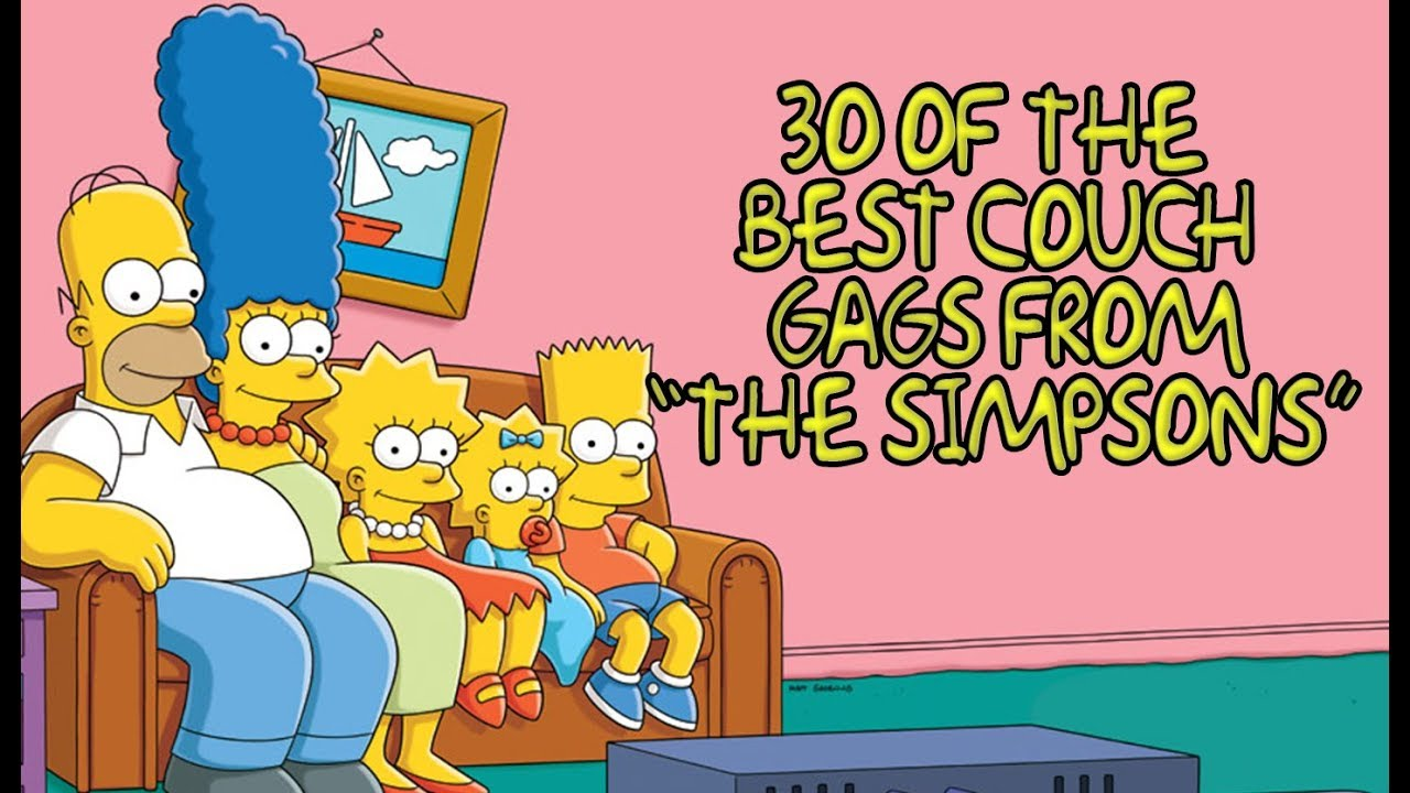 Couch Gags From The Simpsons