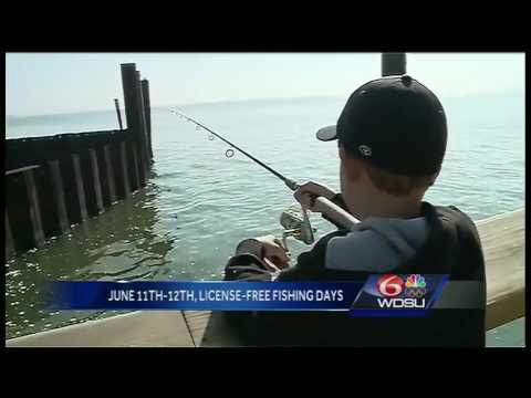 License-free Fishing Days Begin In June Across Louisiana
