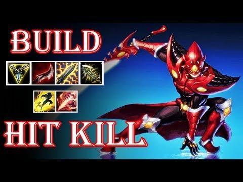 MASTER YI BUILD HIT KILL COM RUNA COLHEITA SOMBRIA!! 1 AA MORREU!!