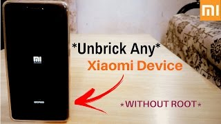 Unbrick Redmi Note 4 | Flash Fastboot ROM In Redmi Note 4 | Stuck at Mi LOGO In redmi Note 4??