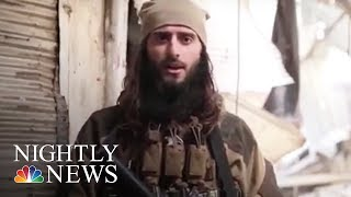 Officials: American From New Jersey Now An ISIS Commander | NBC Nightly News