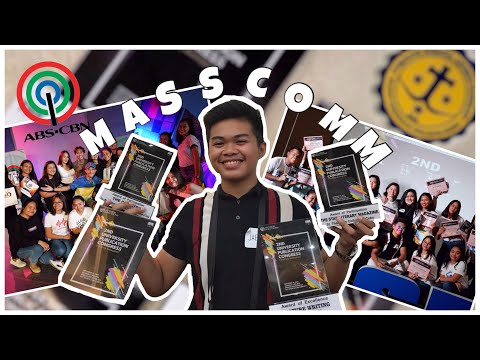 What It's Like To Be A MASS COMM STUDENT | James Jaeson