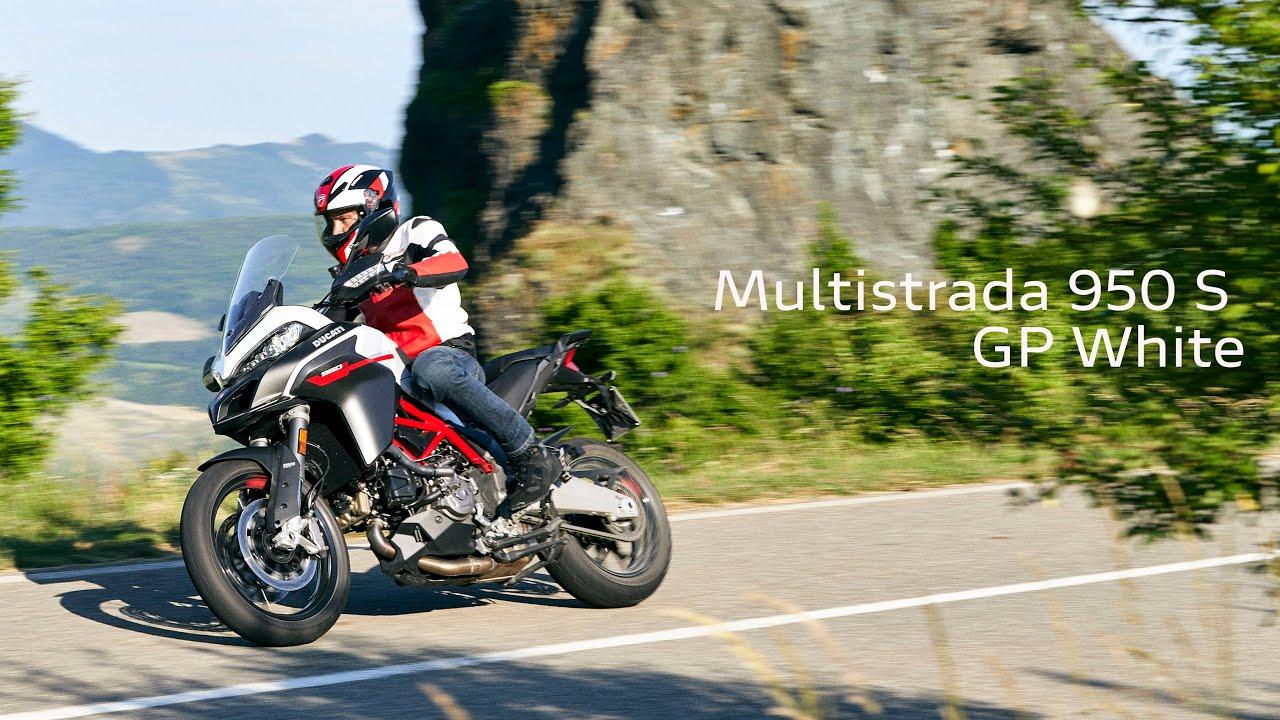 Multistrada 950 GP White | Sporty soul