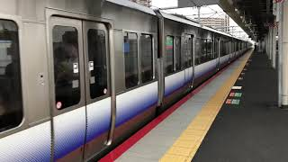 223系0番台HE407+225系5100番台HF431東岸和田発車