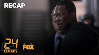 Catch Up With 24: LEGACY In Five Minutes | Season 1 | 24: LEGACY