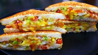 ബ്രെഡും മുട്ടയും കൊണ്ട് ഇതുപോലൊരു Sandwich ചെയ്തു നോക്കൂ 😋😋  Tasty Egg Bread Sandwich   Breakfast