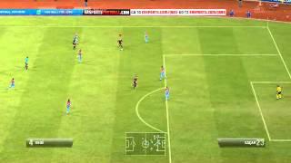 Fifa 12 Eskişehirspor giriş tezahürat gol sonrası müzik Serhat Baştürk