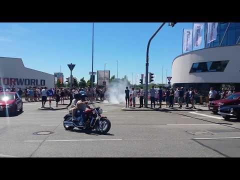 Cars &  Coffee Motorworld Böblingen Part 2 - Police , Crash , Funny , Drifts 2017