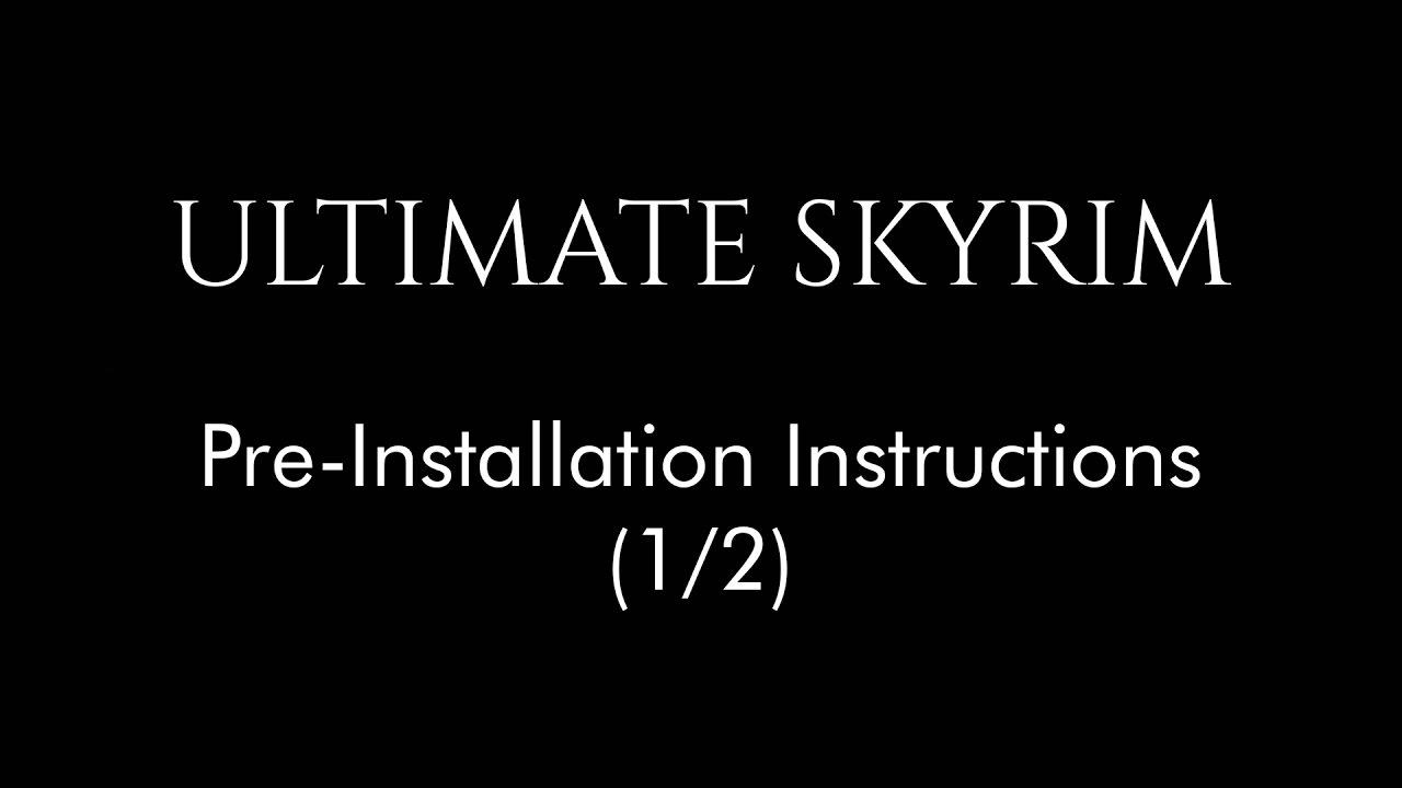 nexus ultimate skyrim