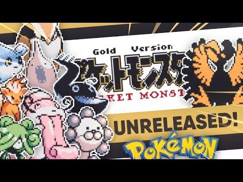 Pokemon Gold DEMO LEAK | Unreleased Pokemon! | Space World 1997
