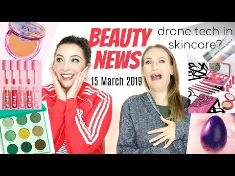 BEAUTY NEWS – Drone Tech in Skincare & Hamburger Eyeshadow Palettes