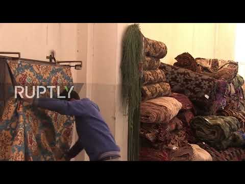 Syria: Textile production returns to war-torn Aleppo