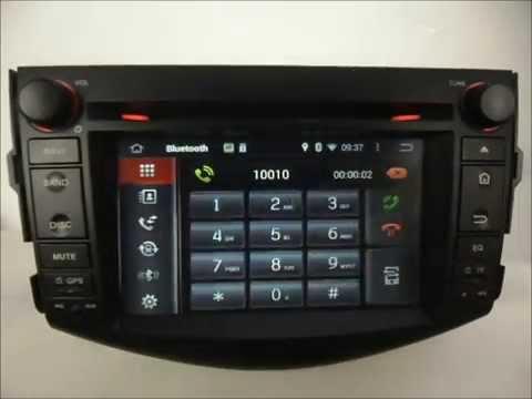 Android Auto Dvd Player For Toyota Rav4 2006 2017 Gps Navigation Wifi 3g Radio Bluetooth