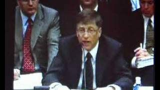 Bill Gates on OpenXML at US House of Representatives