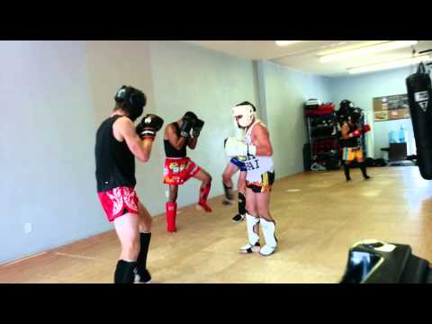 Sparring with Coach Vik, 7/13/14