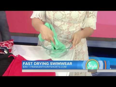 Military Grade Swimwear - Hydrophobic Nanotechnology