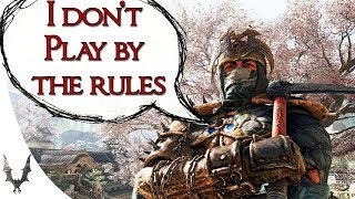 For Honor - Why Shinobi is a huge mess of a character