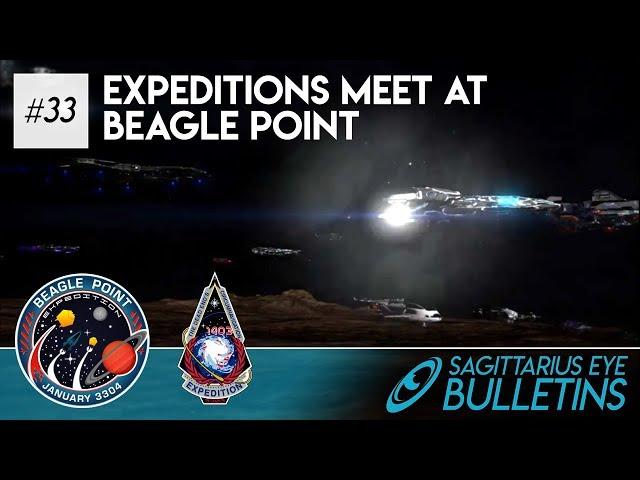 Sagittarius Eye Bulletin - Expeditions Meet at Beagle Point
