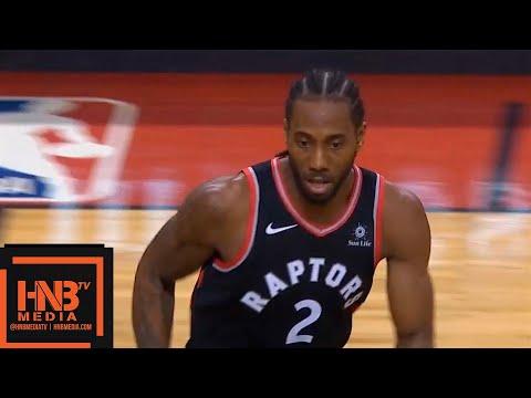 Toronto Raptors vs New Orleans Pelicans 1st Half Highlights  11122018, NBA Season