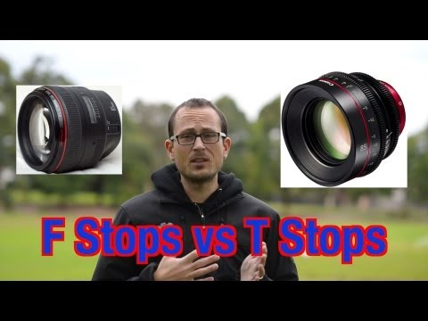 F Stops vs T Stops - what is the difference?