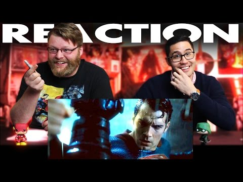 Batman v Superman Dawn of Justice Final Trailer REACTION!!
