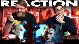 Batman v Superman Dawn of Justice Final Trailer REACTION!!