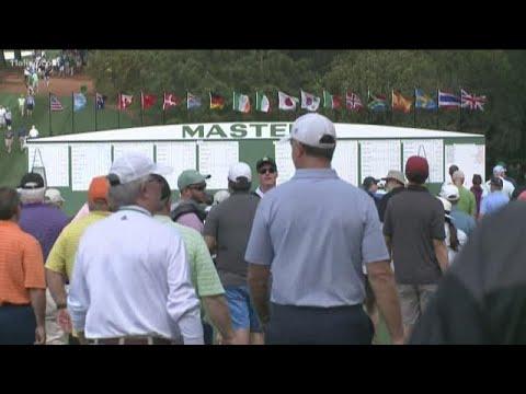 Masters Week Begins At Augusta National