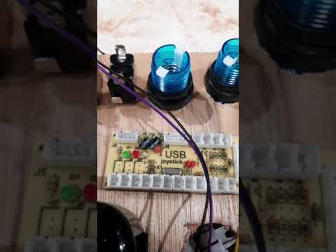 Arcade1up Control panel working with buttons, speakers, spinners, trackballs, and more from Rudolf Horak