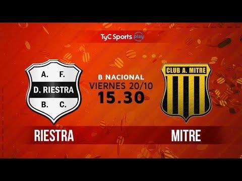 Primera B Nacional: Deportivo Riestra vs. Atlético Mitre (SdE) | #BNacionalenTyC