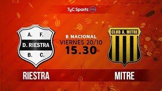 Primera B Nacional: Deportivo Riestra vs. Atlético Mitre (SdE)   #BNacionalenTyC