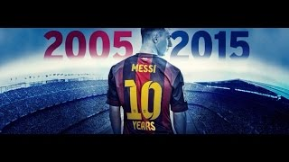 Download MESSI 403 goals in 10 years  ميسي 403 جول في 10 سنوات MP3 song and Music Video