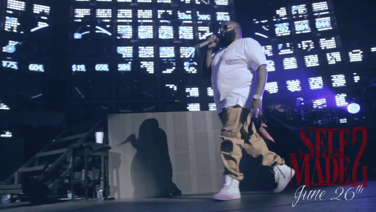 Rick Ross at Club Paradise Tour (Meek Mill & French Montana Get Fitted For Grillz By Paul Wall)