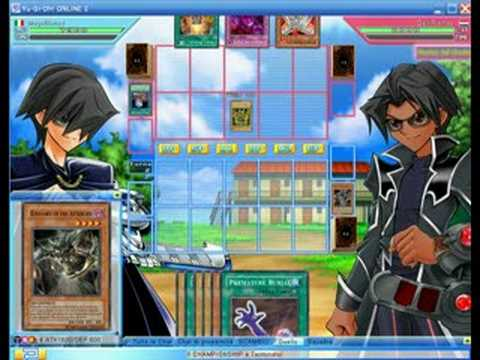 YuGiOh Online - Exodia 3 Turns Win