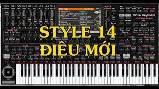 ORG TRÊN MÁY TÍNH | FREE download test style 14 điệu organ trên pc