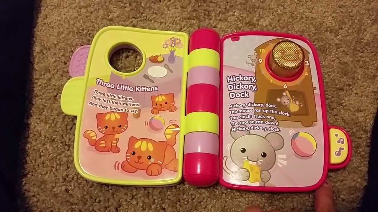 Vtech Storytime Rhymes Book Youtube