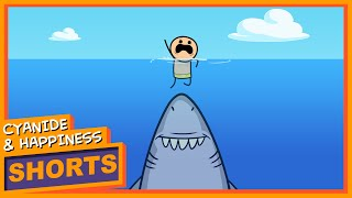 Shark Attack - Cyanide & Happiness Shorts