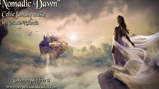 Royalty Free - Celtic Fantasy Nomadic Dawn by Alexander Nakarada