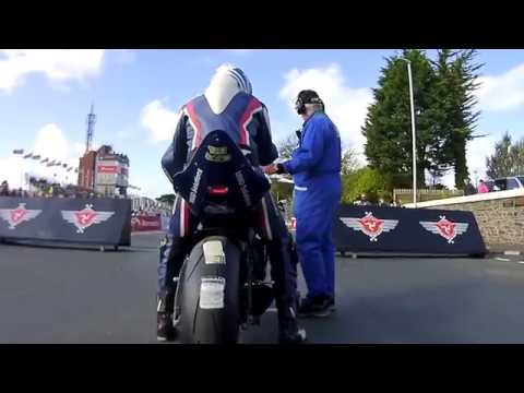 Michael Evans 2017 ManxGP Junior Race - Part1 with Data