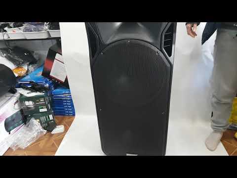 Колонка мощная активная с радиомикрофонами A15-15 (USB/Bluetooth/Аккуммулятор)