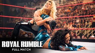 FULL MATCH - Beth Phoenix vs. Melina – WWE Women's Title Match: Royal Rumble 2009
