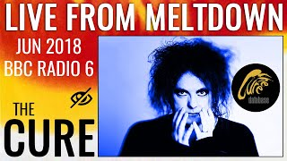 the cure   steve lamacq live from robert smiths meltdown festival bbc 6 music