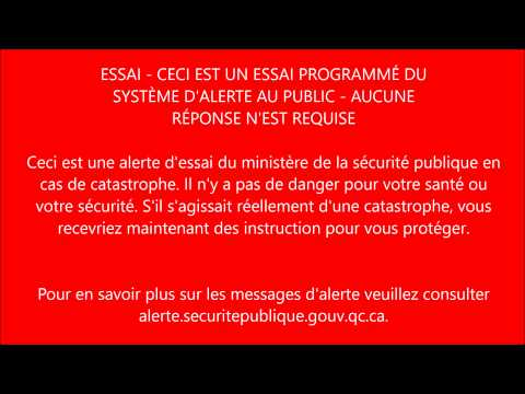 Québec en Alerte