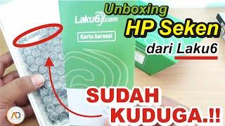 Unboxing, HP Seken dari Laku6 - Sesuai Dugaan.!!