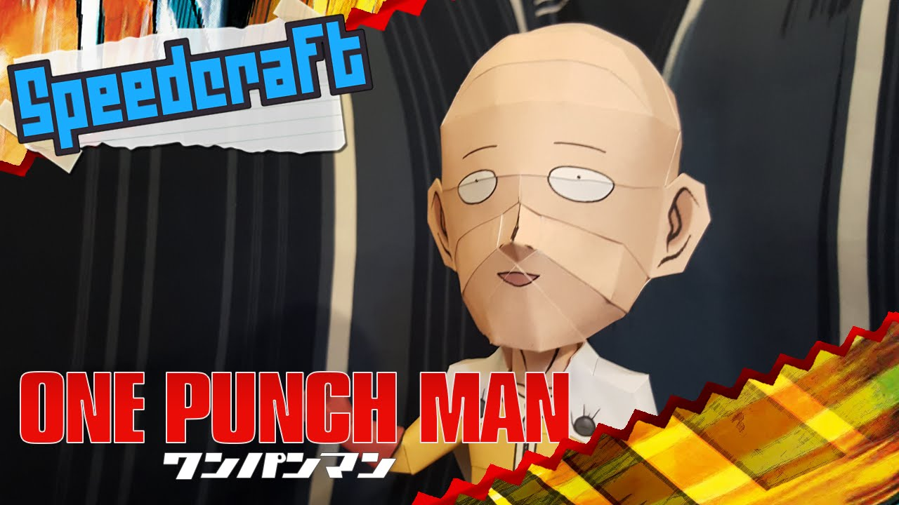 Papercraft One Punch Man Papercraft ~ Saitama ~
