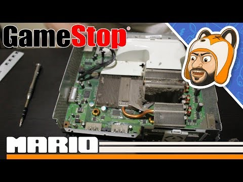 Is GameStop Still Up To Their Xbox 360 Trickery? - Opening Up A Used Console From GameStop