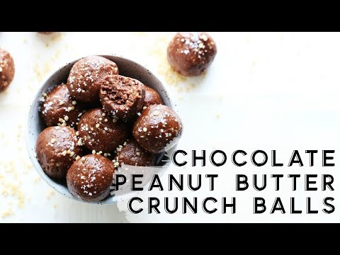 Chocolate Covered Peanut Butter Bliss Balls