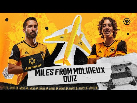 Does Joao Moutinho know his geography?   Aeroset Miles from Molineux quiz!
