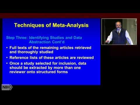 IPPCR 2015: Secondary Data/Meta-Analysis